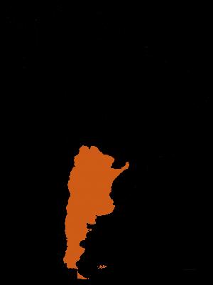 Carte de l'Argentine - DESTINATIONS LATINES