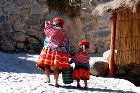La Dame d'Ollantaytambo - Pérou