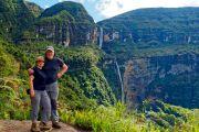 Point de vue sur la cascade de Gocta - Pérou