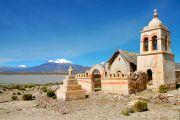 Eglise de Sajama - Bolivie