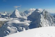 Vue depuis le Nevado Pisco - Cordillère Blanche - Pérou