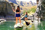 Balade en paddle sous le pont de Queshuachaca - Apurimac - Pérou