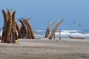 Barques de pêcheurs - Pimentel - Pérou