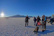 Pique-nique sur le Salar de Uyuni - Bolivie