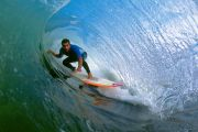 Surf sur la côte péruvienne