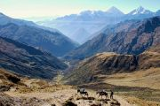 Trekking dans la cordillère de Vilcabamba - Pérou